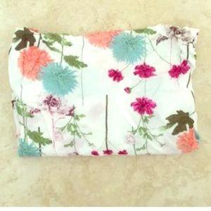 Kittenish spring floral bandana